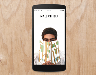 Citizen Supply Microsite