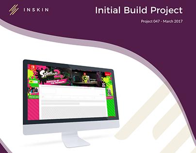 Initial Build Project - App