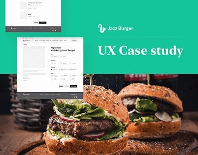 Jazz Burger UX case study