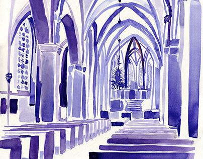I N K / Church painting