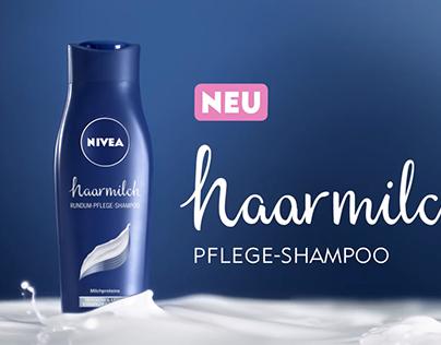 NIVEA hairmilk Lettering
