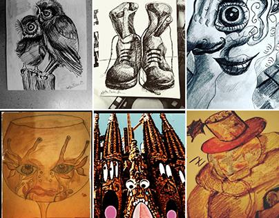 Trabajos del 2020 (Artworks of 2020).