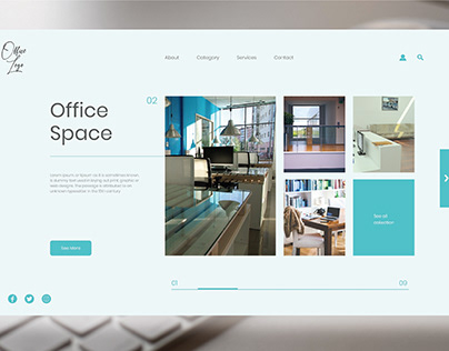 Office Space Landing Page