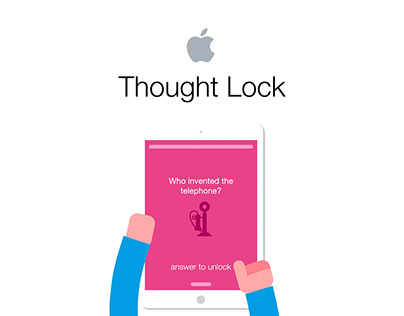 """""""Thought Lock"""" by Apple"""