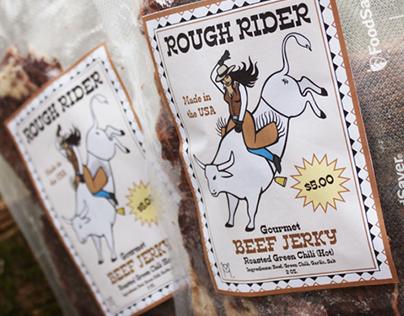 Rough Rider Beef Jerky Branding