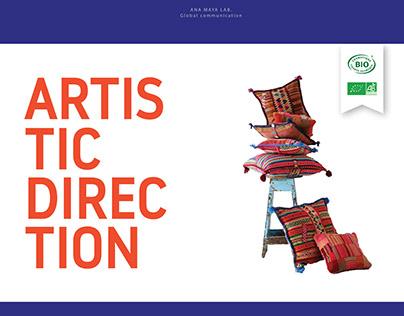 Brochure, marque Ana Maya Lab.