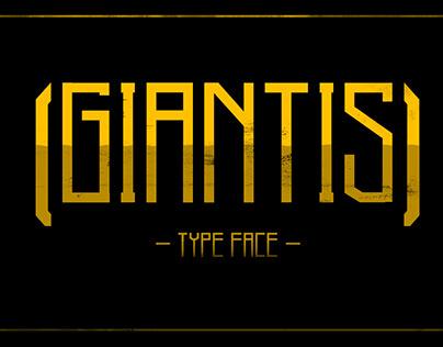 Giantis - Regular Font