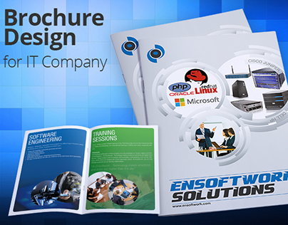 Brochure Design for IT Company by Swan Media