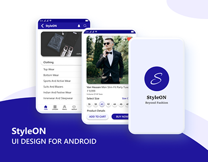 UI Design Android - Fashion Product App
