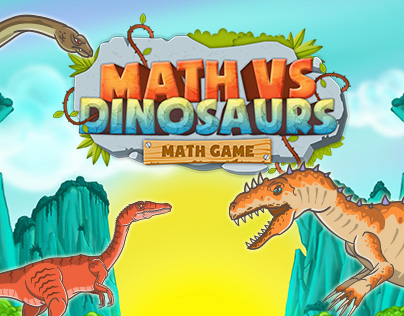 Math vs Dinosaurs - Fun Educational Game