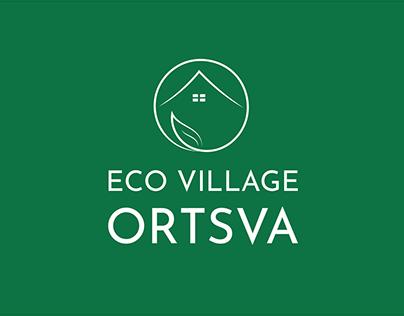 Eco Village Ortsva - Minimalist Logo