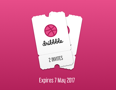 Dribbble Invites (2017)