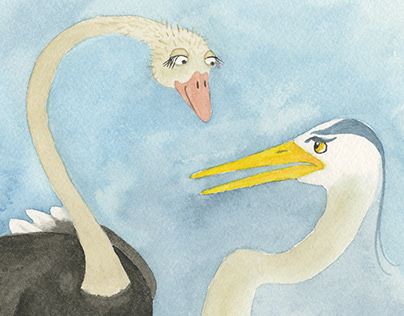 Paired Readers - Birds of a Feather - ILLUSTRATIONS