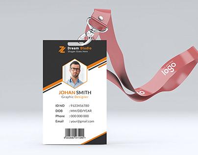 Employee ID Card Design- Stationery Design