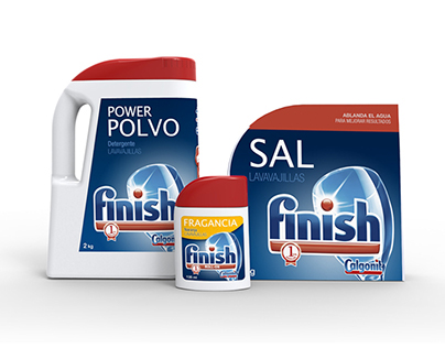 Finish Power Polvo / Sal / Ambientador