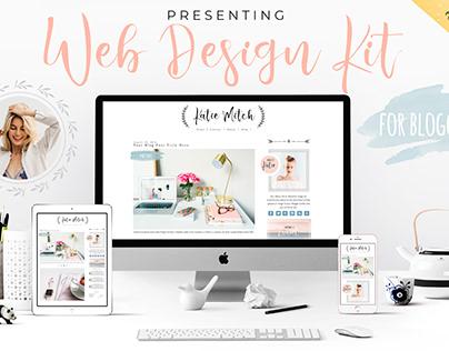 Web Design Kit for Bloggers