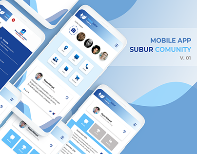 Mobile App - SUbur Comunity