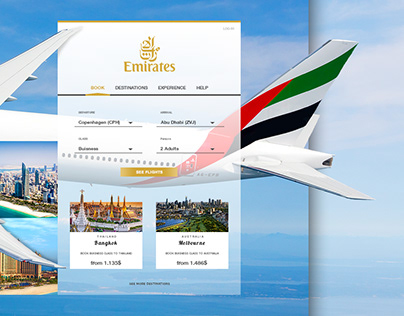 UI Design - Emirates