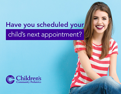 Children's Community Pediatrics - Appointment Card