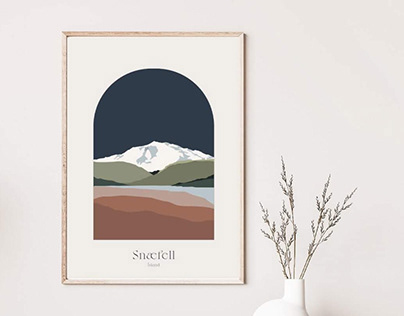 MOUNT SNÆFELL - ICELAND