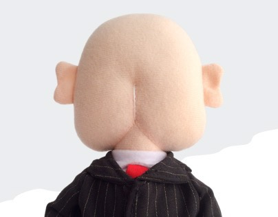 Mr. Badass — plush art toy