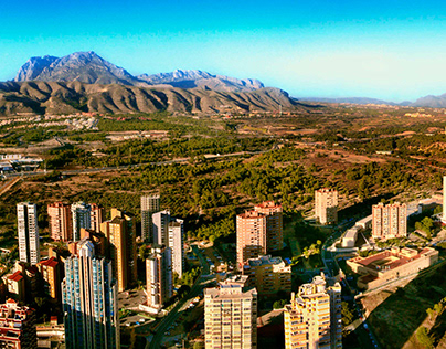 Benidorm - Mountains and Skyscrapers