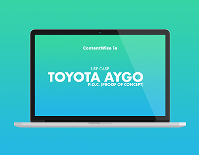 Use Case Design - Toyota Aygo P.O.C.