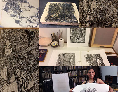 Return to Printmaking 2017: Adventures in Lino & Litho