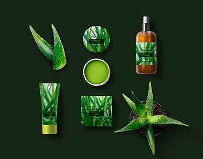 Natural cosmetic products created on a plant basis.