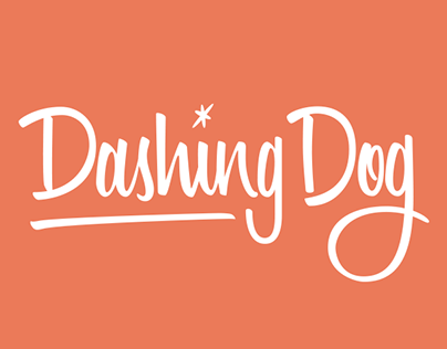 Dashing Dog Shampoo Branding & Package Design