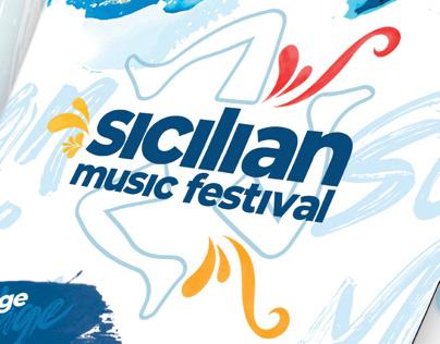 Visual identity of Sicilian Music Festival