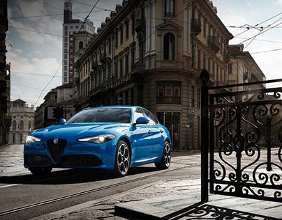 Alfa Romeo Stelvio & Giulia Catalogue / Campaign 2020