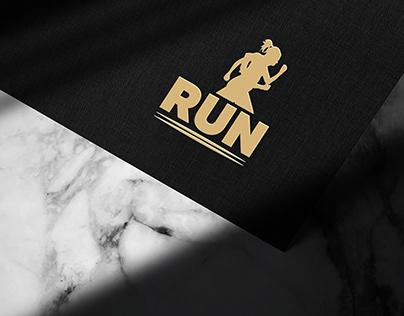 Brand meaningful run club logo