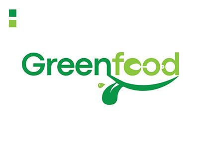 GreenFood Logo Design