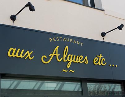 aux Algues etc…, restaurant
