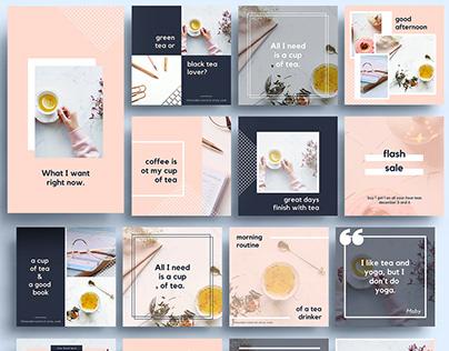 Instagram Marketing Kit - The Jasmine Edition