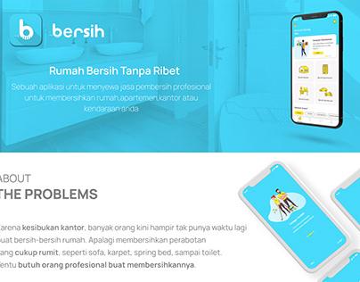 Bersih - aplikasi sewa jasa pembersih rumah,kantor dll