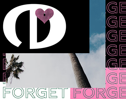 Forget – Blank Poster