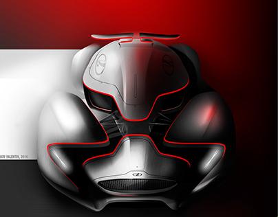 Lada X Roborace Sketches