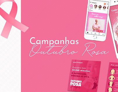 Outubro Rosa | Campanha Market-in