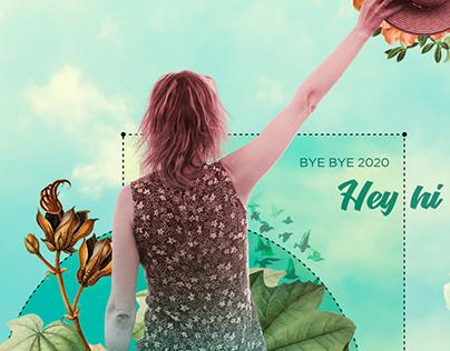 Digital Collage • Hey hi 2021