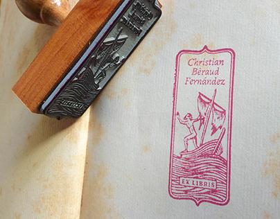 Ex-Libris Christian Bèraud Fernández
