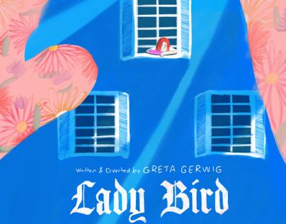 Lady Bird inspirational poster