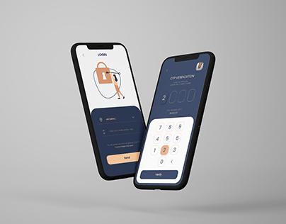 OTP Screen UI Design