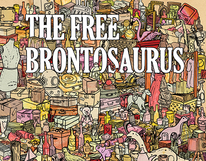 The Free Brontosaurus - Book Design