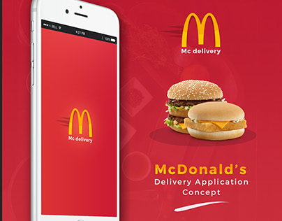 McDonald's Delivery Apps (Concept)