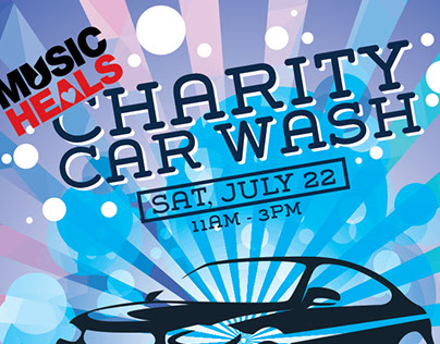 Charity Car Wash Poster