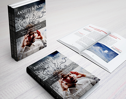 Anxiety & Panic Book cover Design