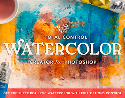 Total Watercolor Creator for Photoshop