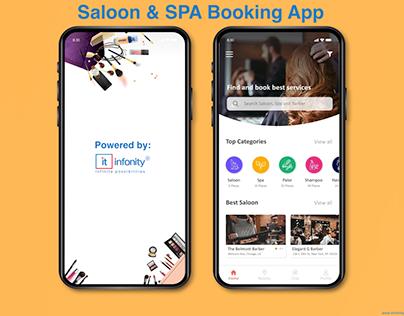 Saloon & SPA App